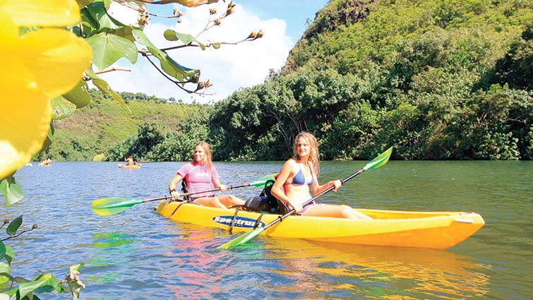 Kauai Kayak Tours