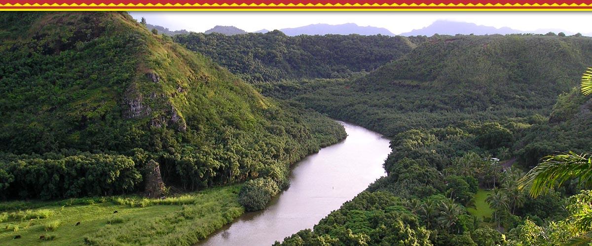 Guided Wailua Kayak Tours | Kayak Wailua River & Hike to